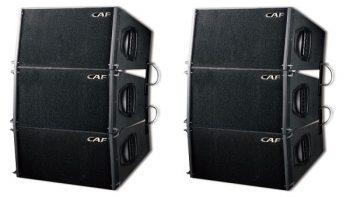 Loa array CAF SUN100 hoạt động mạnh mẽ