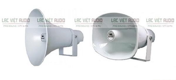 Loa nén 15W có kiểu dáng thiết kế gọn nhẹ, khả năng tái tạo âm thanh tốt và hoạt động bền bỉ